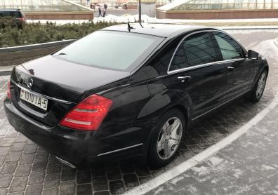 Mercedes S-класс W221 long restyling 4 MATIC