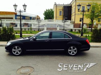 Mercedes S-класс W221 long restyling